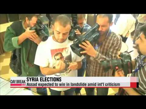 Presidential elections wrap up in war-torn Syria