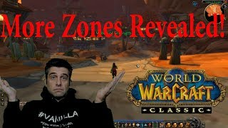 Classic WoW Demo: More Zones revealed (In Game Footage)
