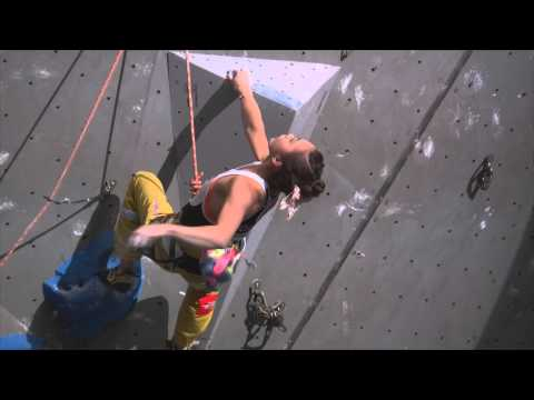 IFSC World Cup Puurs 2013 - Lead - Finals - Jain Kim