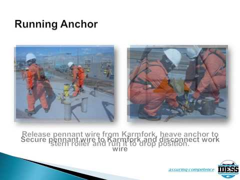 Anchor Handling and Towing Course