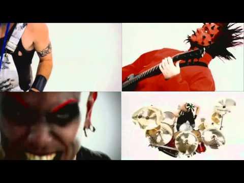 Mudvayne - Dig (4 angle - Split Screen)