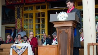 Sikyong Dr Lobsang Sangay's Speech at his Swearing-in Ceremony