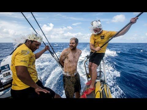 A Fishy Initiation   Volvo Ocean Race 2014-15