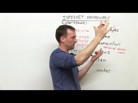 English Vocabulary: 12 Internet words