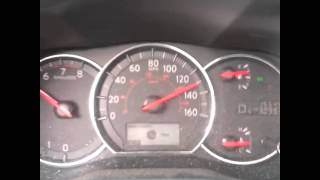 Maxima 2012 top speed run