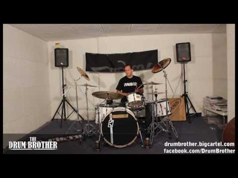 John Macaluso (Yngwie Malmsteen , James La Brie, the Ark) Odd Time Linear Phrasing Drum Lesson 2