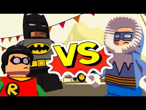 Мультики Лего Супергерои на русском. Бэтмен и Робин против Капитана Холода. Новые мультфильмы 2016