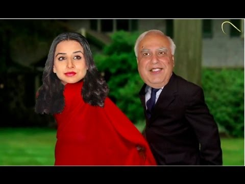 Kapil Sibal & Vidya Balan : Dancing With The Censor