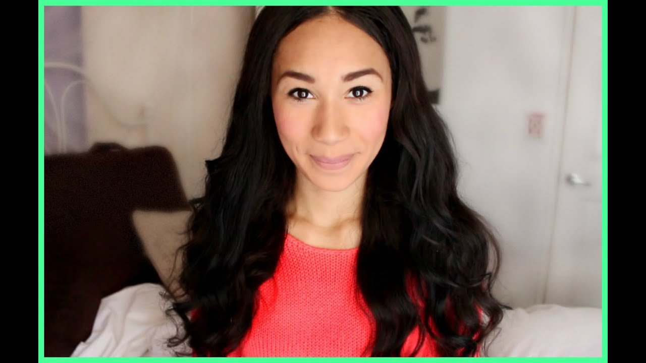 hair routine for mixed curly hair girls   youtube