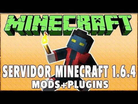 Como abrir servidor Minecraft 1.6.4 com Mods e Plugins #1