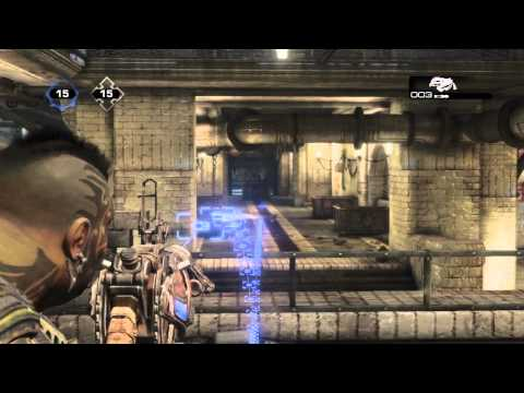 Gears of war 3 : Minitrucos #7 Excavador (Como apuntar)