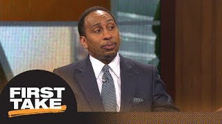 Stephen A.'s epic rant on idea of Suns trading No. 1 pick for Kawhi Leonard | First Take | ESPN