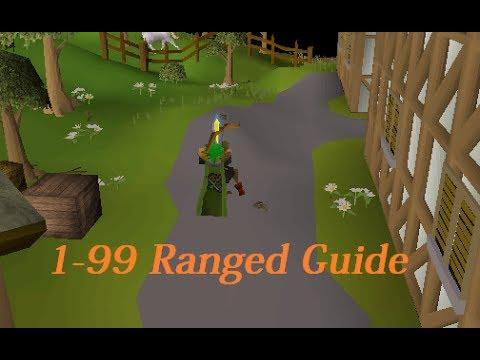 Oldschool RuneScape 2007: 1-99 Ranged Guide