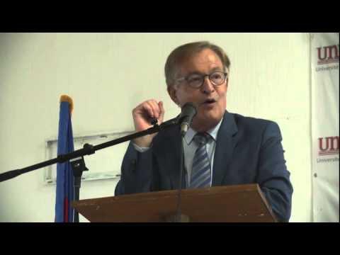 Conférence de Monsieur Jean-Louis Roy, Port-au-Prince, Haiti