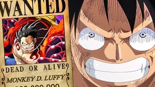 Luffy's New Bounty After Whole Cake Island Arc - One Piece Chapter 896+