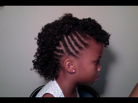 Child's Natural Hair | Mohawk