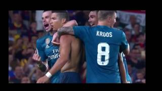Barcelona vs Real Madrid 1-3 - Spanish Super Cup 13/08/2017 HD