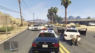 GTA 5 COPS Episode 1 - Xbox One HD - Officer De Santa Patrol