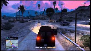 GTA 5 Online Gameplay: Doing Missions For Trevor (gta v online trevor's missions)