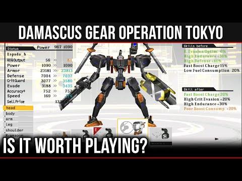 SHOULD YOU PLAY... - Damascus Gear: Operation Tokyo ? (PS Vita)