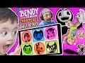 LEARN COLORS w/ BENDY & the INK MACHINE! FGTEEV BEST BATIM GAMEPLAY Elevator Glitch Chapter 3 Ending