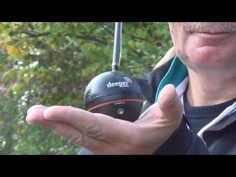 Константин Кузьмин. Беспроводной Bluetooth эхолот Deeper Smart Fishfinder.