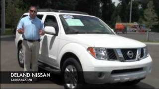 USED NISSAN PATHFINDER FOR SALE ONE OWNER LOADED W015679A