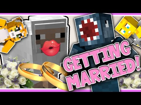 Minecraft - TIME TRAVELLERS! - GETTING MARRIED! #27 W/Stampy & Ash!