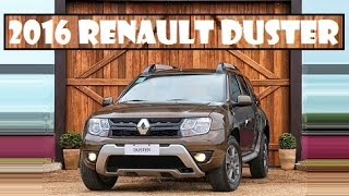 2016 Renault Duster, appears to have a new set of cosmetic touches in Brazil