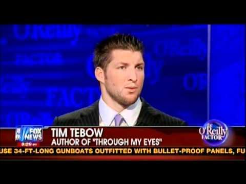 Bill O'Reilly Interviews Tim Tebow (6/2011)