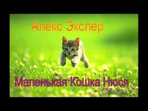 Аудиокнига: Маленькая кошка Нюся (Алекс Экслер)
