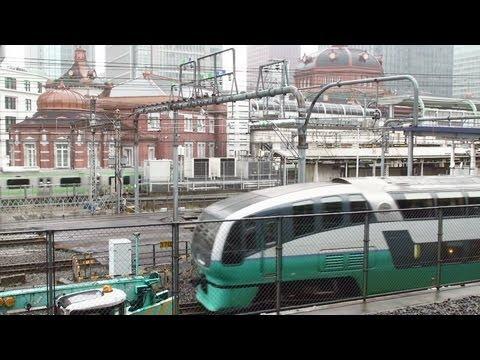 東京駅舎 Tokyo sta, Keiyo line and Sobu slowly line EMU.
