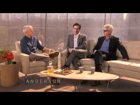John Slattery and Anderson: Silver Fox Look-a-Likes