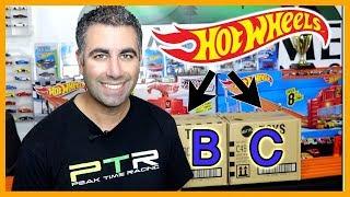 2019 Hot Wheels B & C Case Double Case Unboxing
