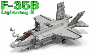 Lego F-35B Lightning II | Joint Strike Fighter (VTOL)