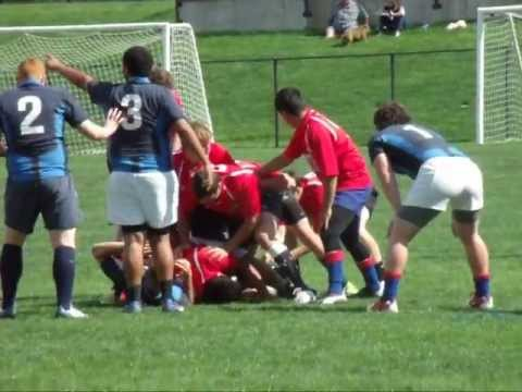 2013 D-1 RUGBY COLORADO ALLSTAR GAME RED 68 BLUE 14 #1