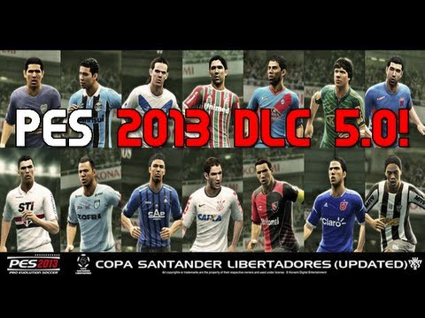 Pes 2013 DLC 5.0 - Nova Copa Libertadores