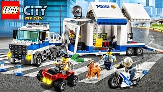 Lego Police Car -  Sport cars and Fire truck -  Game My City New Update