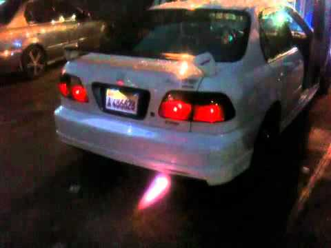 honda civic  nitro nos  redis edition santo domingo youtube