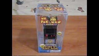 Tiny Arcade Ms Pac-Man! World's Smallest Arcade Game!