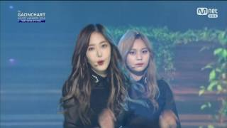 170222 The 6th Gaon Chart Music Awards GFriend Cut