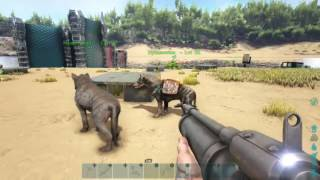 Ark Survival Evolved Hyaenodon How to tame, why tame Xbox one