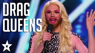 Top Drag Queens on Got Talent! | Got Talent Global