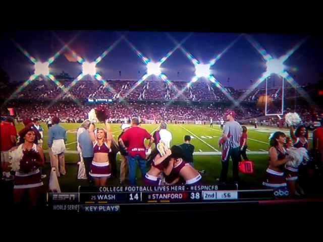 Stanford Cheerleader Fail