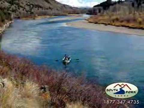 Fly Fishing the Snake River in Idaho with South Fork Lodge Video
