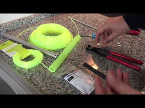 DIY - How to make leashes for fishing rods and Kayak gear