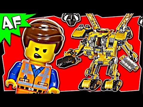 Emmet's CONSTRUCTO MECH 70814 The Lego Movie Stop Motion Set Review