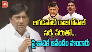 TRS MP Vinod Comments on Lagadapati Survey | Telangana News | Chandrababu Vs KCR