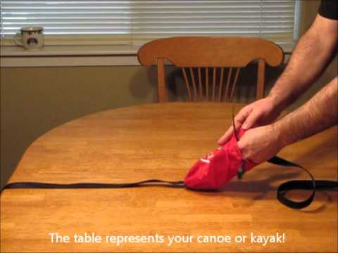 0 kayak canoe tie down straps.wmv
