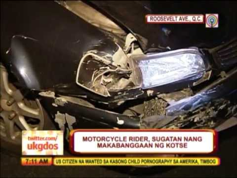 Rider seriously injured in QC crash